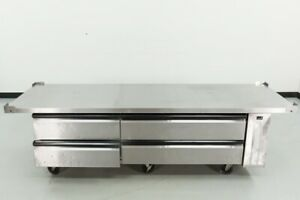 Used Silver King Skrcb97h 97 4 drawer Extended Top Chef Base 551503