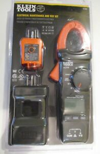 Klein Tools Cl110kit Electrical Tester Kit W clamp Meter Brand New Sealed
