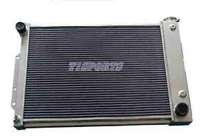 Aluminum Racing Radiator 3 Row 1967 1968 1969 Chevy Camaro Big Block Firebird