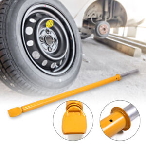 Steel Tire Bead Breaker Slide Hammer For Car Truck Trailer Heavy Duty Bar Yellow