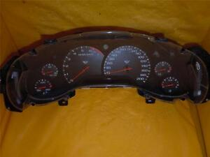 99 Corvette Speedometer Instrument Cluster Dash Panel Gauges 171 879