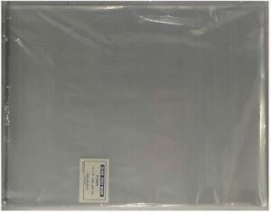 500 Uline 12 X 15 Clear Poly T Shirt Apparel Plastic Bags 2 Fold Over Flap Bags