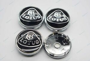 60mm 1set Car Modification Parts Wheel Center Caps Hub Cover Emblem For Lotus
