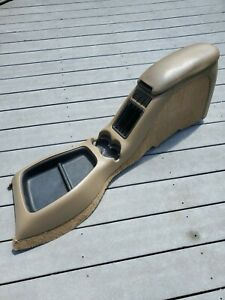 1998 05 Chevy S 10 Blazer Gmc Sonoma Jimmy Floor Center Console Oem Complete Tan