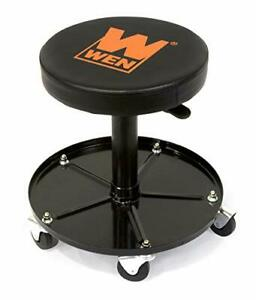 Wen Capacity Pneumatic Rolling Mechanic Adjustable Stool Seat Original Version