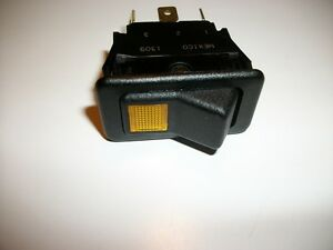 Eaton Rocker Switch 5 Flat Post With A Power On Light Two Positions On And Off