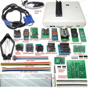 Rt809h Emmc nand Flash Programmer16 Original Adapters With Cables Emmc nand