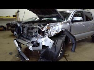 2017 Tacoma Right Passenger Side Rear Door Assembly Color Silver 1d6