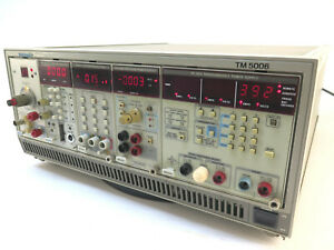 Tektronix Tm5006 Mainframe W Tg501 Sa501 Dm5110 Ps5004 Ps5010 Option 12