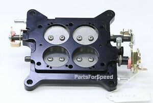 Aed 6500a Billet Carburetor Base Plate Holley 4150 Double Pump 650 700 750 800