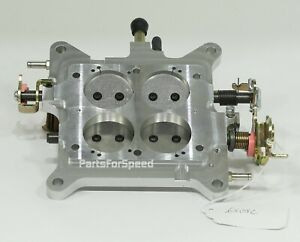 Aed 6505c Billet Carburetor Base Plate Holley 4150 Double Pumper 650 750 800 Usa