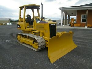 Cat D4g Xl Tractor Crawler Dozer Bulldozer Diesel 6 Way Blade Used Hydrostatic