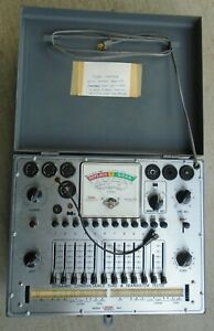 Eico 666 Dynamic Conductance Tube Tester Fixer upper