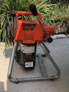 General Wire Root 66 Rt 66 Sectional Drain Sewer Cleaning Machine Tool Only