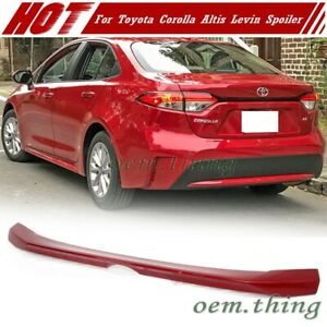 2020 For Toyota Corolla Levin Altis 4dr Sedan Trunk Spoiler Wing Painted 3r3