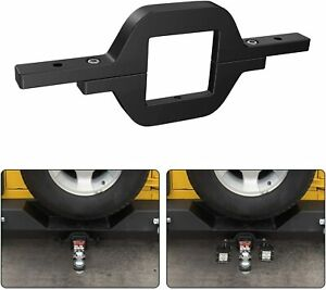 Towing Hitch Mount Bracket For Truck Trailer Suv Pick Up Fit Dual Led Work Light