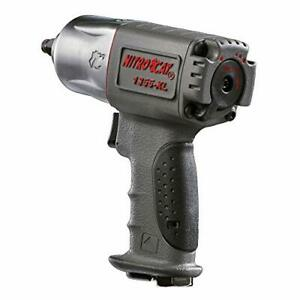 Nitrocat 1355 xl 3 8 inch Composite Air Impact Wrench With Twin Hammer Mechanism