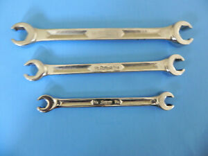Snap On Flare Nut Wrenches 3 Pcs