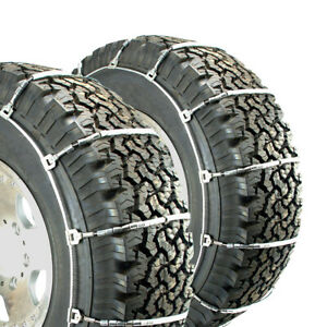 Titan Light Truck Cable Tire Chains Snow Or Ice Covered Roads 10 3mm 245 70 19 5