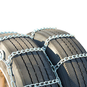 Titan Tire Chains Dual triple Cam On Road Snow ice 7mm 245 75 22 5