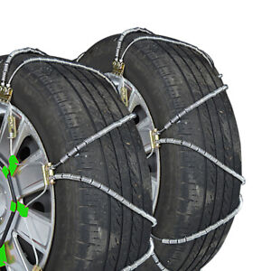 Titan Diagonal Cable Tire Chains On Road Snow Ice 9 82mm 215 45 15