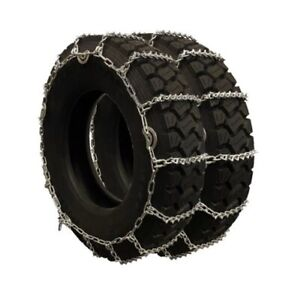 Titan Truck V Bar Link Tire Chains Dual Cam On Road Ice Snow 5 5mm 215 85 16