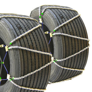 Titan Diagonal Cable Tire Chains Snow Ice Covered Roads 17 64mm 355 65 18