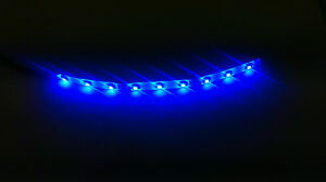 6 Blue 10000k Led Strip 9 Smd Led Waterproof Flexible Light Interior Glow