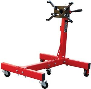 Torin Steel Rotating Engine Stand With Foldable Frame 1500 Lb Capcity Garage New