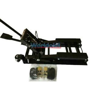 Motorcycle Lift Jack 1500lbs 680kg Hydraulic Atv Stand Table Bench New