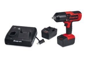 Snap On 18 V Monsterlithium 1 2 Drive Cordless Impact Wrench Bundle