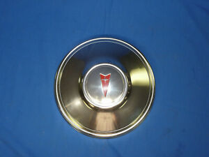Nos Gm Pontiac Lemans Grand Prix Gto Chevelle Dog Dish Poverty Hubcap