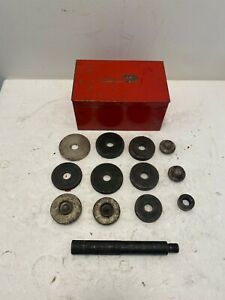 Vintage Snap On A 14 1 Wheel Seal Driver 13 Piece Set