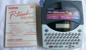 Brother P touch Label Maker Model Pt 1800 1810