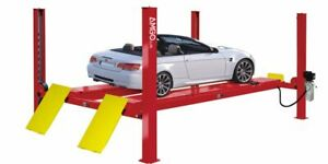 Amgo Pro 12 asx 4 Post Commercial Alignment Auto Lift 12 000 Lb Cap