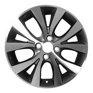 Hyundai Accent 2015 2017 16 Oem Wheel Rim W Out Tpms Slot