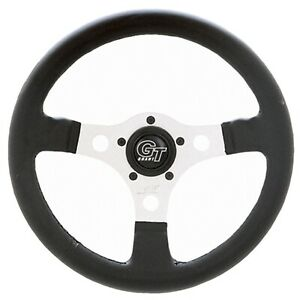 Grant 763 Formula Gt Steering Wheel 13 D 3 Dish Silver Anodized 3 spoke