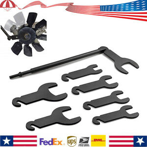 43300 Pneumatic Fan Clutch Wrench Set Removal Tool For Ford Gm Chrysler Jeep
