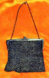 Antique Old Sterling Silver Tiffany Co Company Art Noveau Mesh Ladies Purse