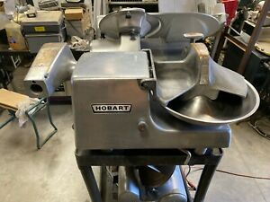 Hobart 84145 Buffalo Chopper 1 2 Hp 12 Hub Commercial Food Preparing Machine
