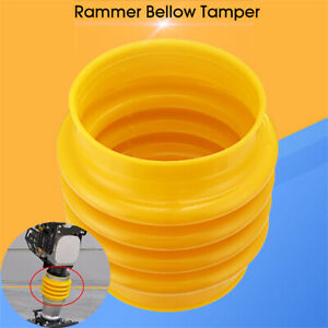 22cm 8 7 Rammer Bellows Boot Yellow For Jumping Jack Compactor Tamper Rammer