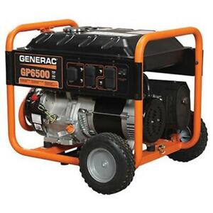 Portable Gas Generator 6500w Emergency Home Back Up Power Camping Tailgating
