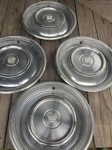 Vintage 1968 69 Cadillac Eldorado Wheel Cover Hubcaps Set Of 4