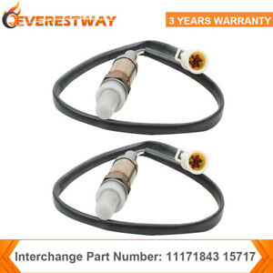 2x O2 Oxygen Sensors Left Right Side Downstream Upstream For Ford Lincoln New