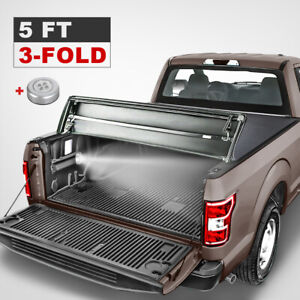 5 Feet Soft Tonneau Cover Truck Bed For 2019 20 Ford Ranger 5ft Tri fold New