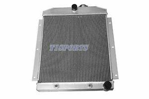 3 Row Aluminum Cooling Radiator Fit For 1947 1954 Chevy Truck 47 54