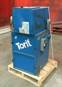 Torit Dust Collector Package W Model 64 Cab Collector Model Dmc a Air Filter