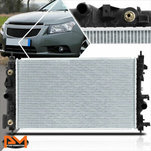 Aluminum Oe Style Radiator For 11 16 Chevy Cruze Limited 1 4 1 8 At Mt Dpi 13197