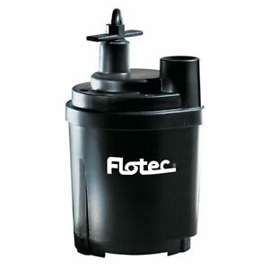 Pentair Flotec Fp0s1300x 1470 Gph 1 6 Hp Tempest Water Removal Utility Pump