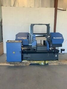 16 Dual Column Band Saw Fully Automatic Nc Alliance Tech Brand 1 Year Warranty